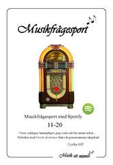 Musikfrågesport 11-20