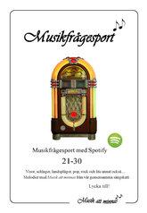 Musikfrågesport 21-30